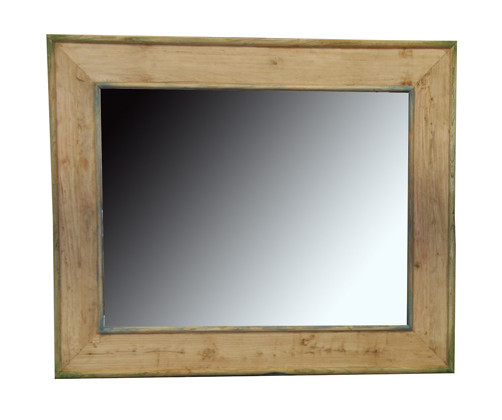 Bordeaux Mirror with Wooden Frame