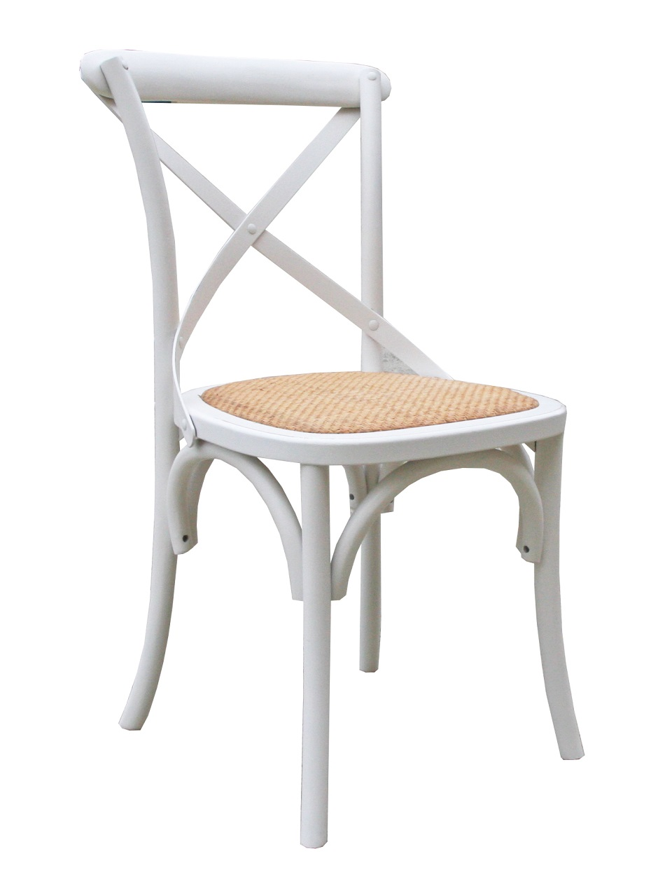 Bella Dining Chair White