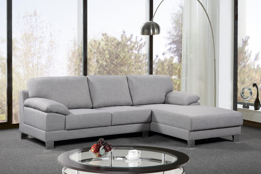 Empire Chaise Suite RHF Grey
