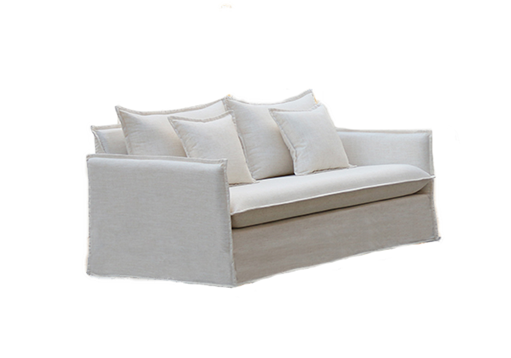 Barcelona 2 Seater Lounge Sand