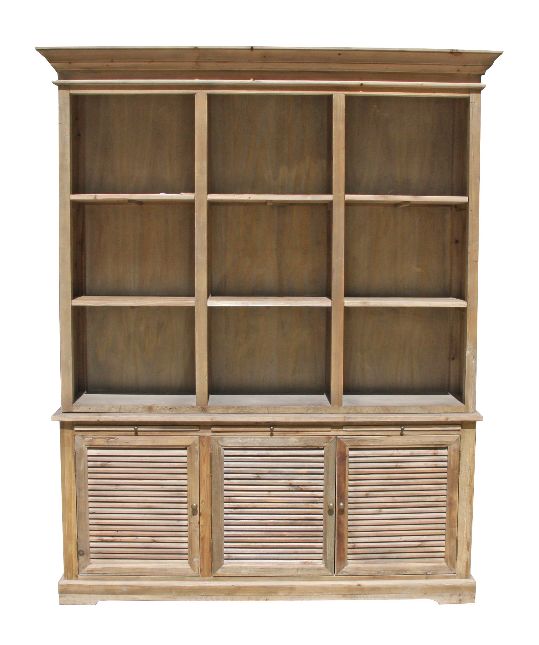 Yukon Bookcase Display Cabinet