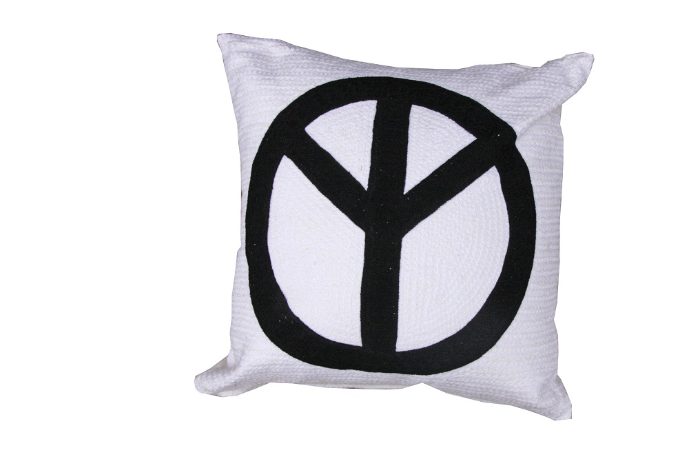 Cushion - Peace Sign 45 x 45